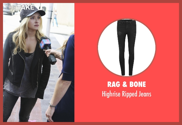 Rag & Bone black jeans from Nashville seen with Juliette Barnes (Hayden Panettiere)