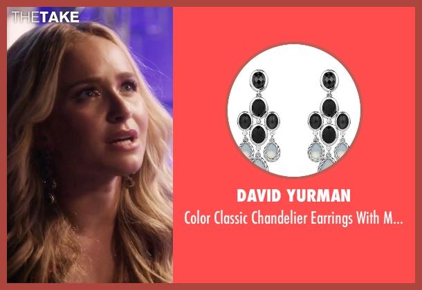 David Yurman black quartz from Nashville seen with Juliette Barnes (Hayden Panettiere)