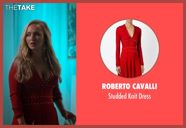 Roberto Cavalli red dress from Nashville seen with Juliette Barnes (Hayden Panettiere)