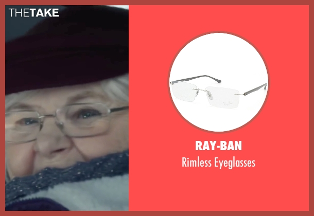 Ray-Ban eyeglasses from Love the Coopers seen with June Squibb (Aunt Fishy)
