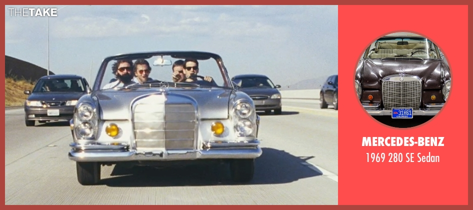 Mercedes-Benz sedan from The Hangover seen with Justin Bartha (Doug)