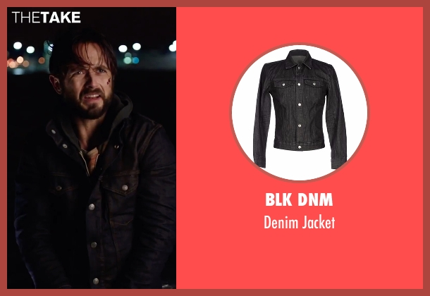 BLK DNM black jacket from Urge seen with Justin Chatwin (Jason Brettner)