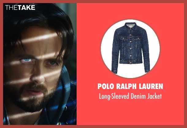 Polo Ralph Lauren blue jacket from Urge seen with Justin Chatwin (Jason Brettner)