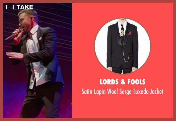 Lords & Fools black jacket from Justin Timberlake and the Tennessee Kids seen with Justin Timberlake