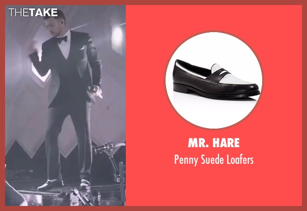 Mr. Hare black loafers from Justin Timberlake and the Tennessee Kids seen with Justin Timberlake