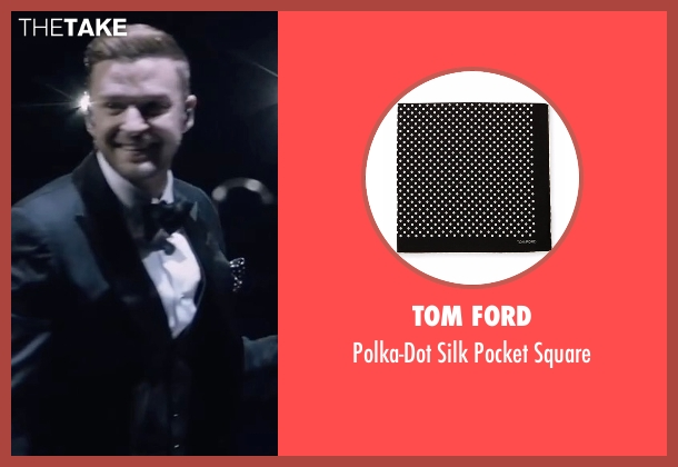 Tom Ford black square from Justin Timberlake and the Tennessee Kids seen with Justin Timberlake