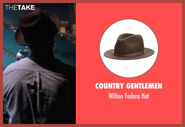 Country Gentlemen brown hat from Justin Timberlake and the Tennessee Kids seen with Justin Timberlake