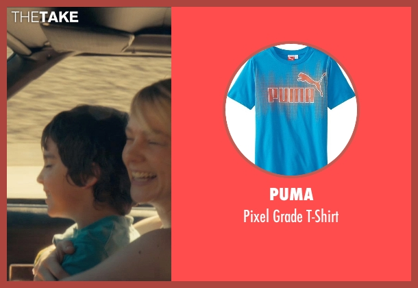 Puma blue t-shirt from Drive seen with Kaden Leos (Benicio)