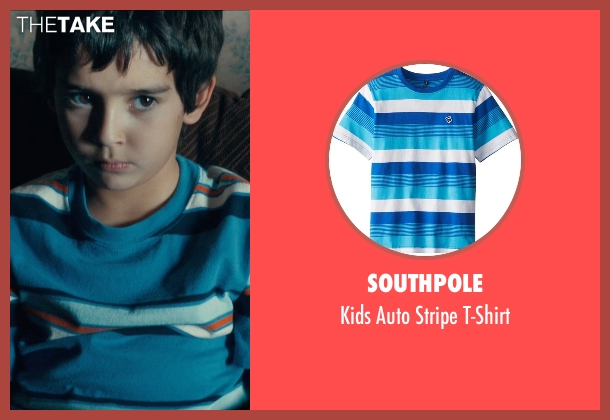 Southpole blue t-shirt from Drive seen with Kaden Leos (Benicio)