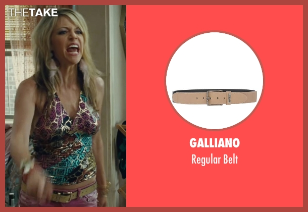Galliano beige belt from The Heat seen with Kaitlin Olson (Tatiana)