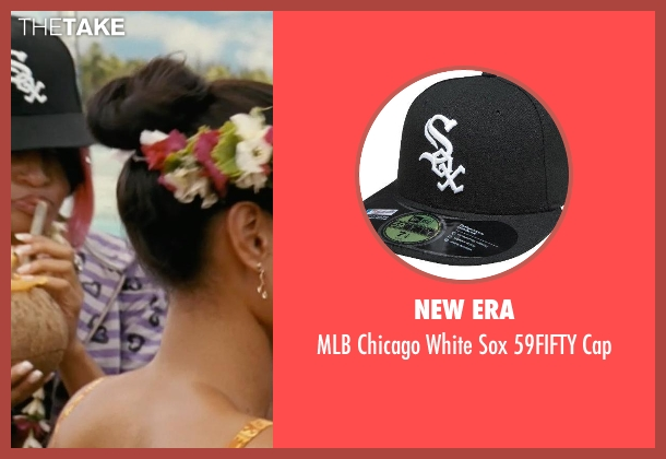 New Era black cap from Couple's Retreat seen with Kali Hawk (Trudy)