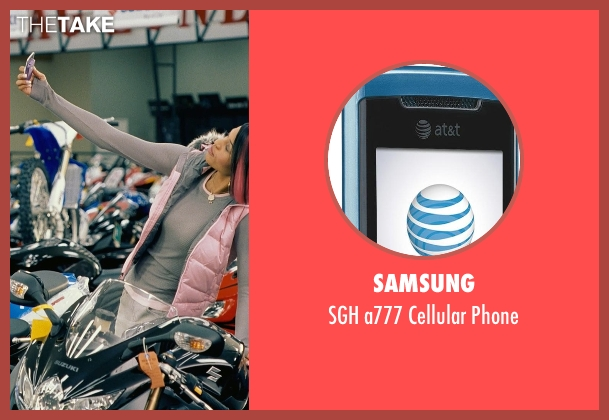 Samsung phone from Couple's Retreat seen with Kali Hawk (Trudy)