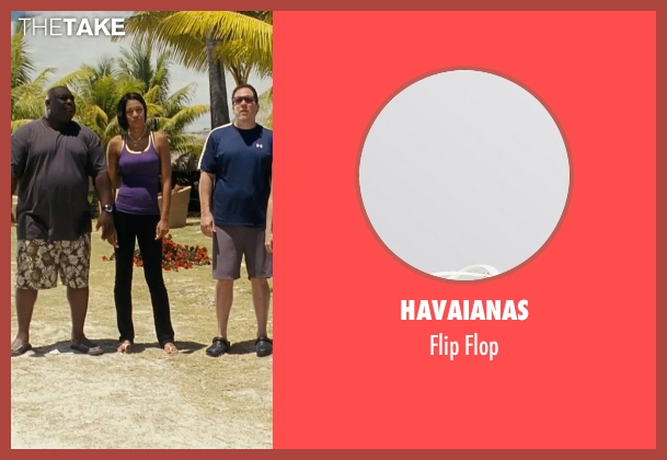 Havaianas white flop from Couple's Retreat seen with Kali Hawk (Trudy)