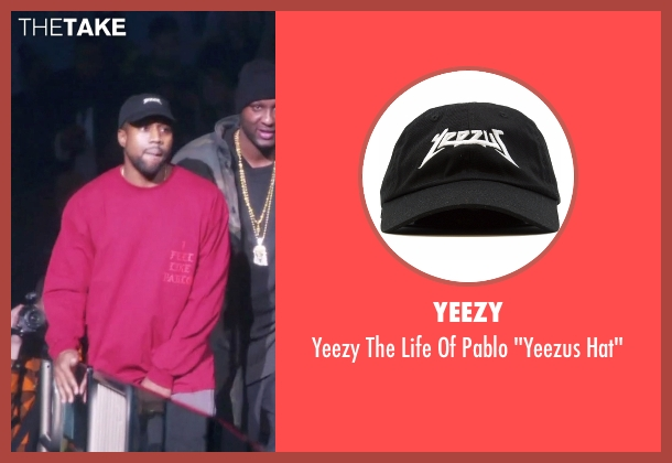 "Yeezy black hat"" from Keeping Up With The Kardashians seen with Kanye West"