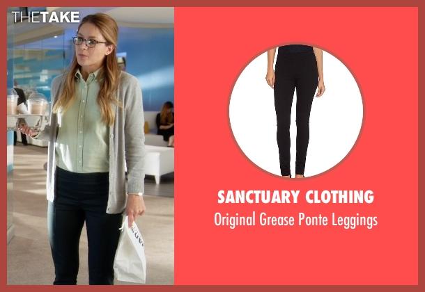 Sanctuary Clothing black leggings from Supergirl seen with Kara Danvers/Supergirl (Melissa Benoist)