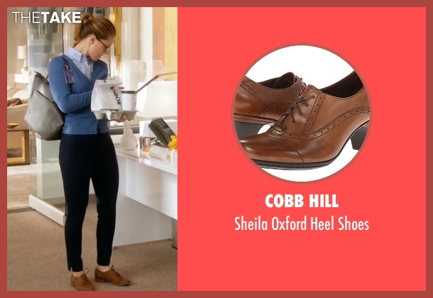 Cobb Hill brown shoes from Supergirl seen with Kara Danvers/Supergirl (Melissa Benoist)