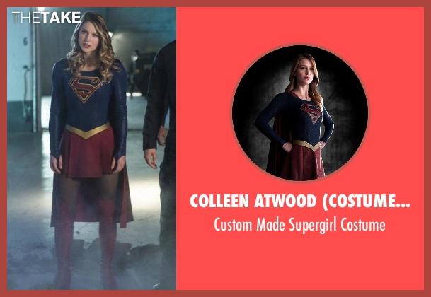 Colleen Atwood (Costume Designer) costume from Supergirl seen with Kara Danvers/Supergirl (Melissa Benoist)