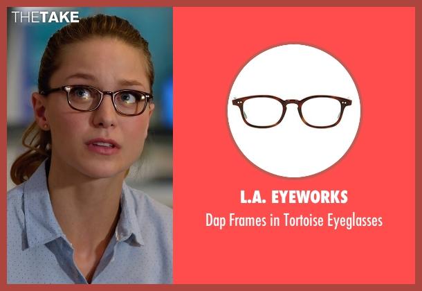 L.A. Eyeworks eyeglasses from Supergirl seen with Kara Danvers/Supergirl (Melissa Benoist)