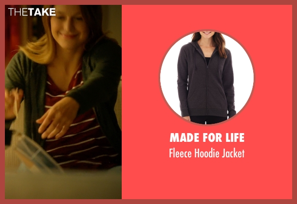 Made For Life gray jacket from Supergirl seen with Kara Danvers/Supergirl (Melissa Benoist)