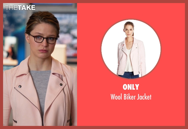 Only pink jacket from Supergirl seen with Kara Danvers/Supergirl (Melissa Benoist)