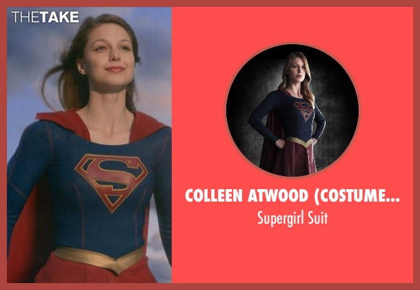 Colleen Atwood (Costume Designer) suit from Supergirl seen with Kara Danvers/Supergirl (Melissa Benoist)