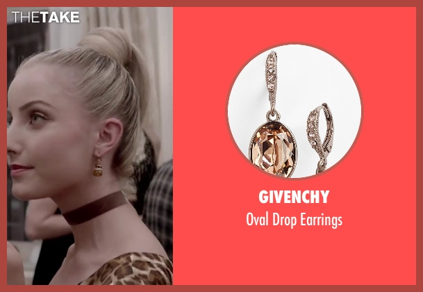 Givenchy brown earrings from Jersey Boys seen with Kara Pacitto (Unknown Character)