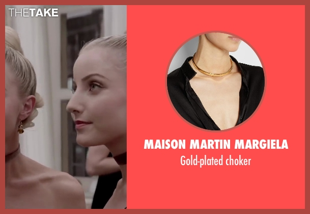 MAISON MARTIN MARGIELA choker from Jersey Boys seen with Kara Pacitto (Unknown Character)