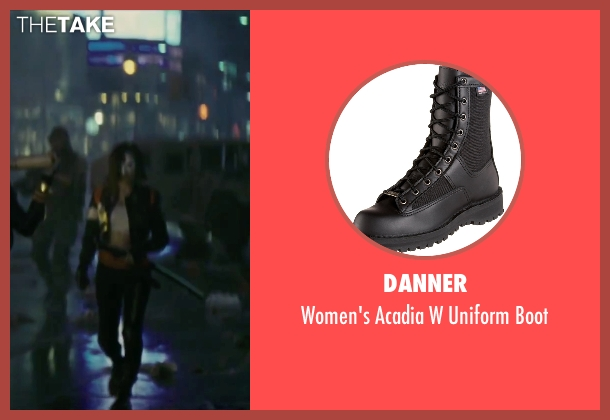 Danner black boot from Suicide Squad seen with Karen Fukuhara (Katana)