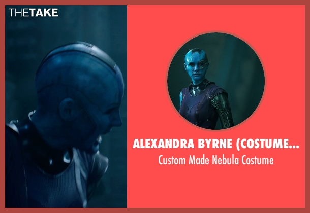 Alexandra Byrne (Costume Designer) costume from Guardians of the Galaxy seen with Karen Gillan (Nebula)