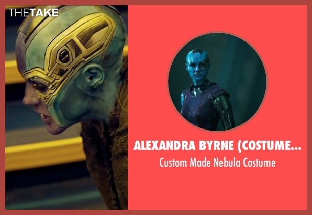 Alexandra Byrne (Costume Designer) costume from Guardians of the Galaxy Vol. 2 seen with Karen Gillan (Nebula)