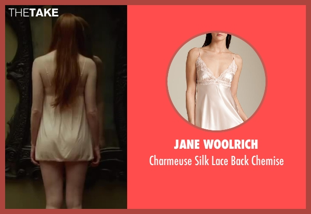 JANE WOOLRICH beige chemise from Oculus seen with Karen Gillan (Kaylie Russell)