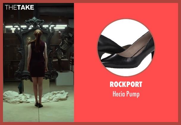 Rockport black pump from Oculus seen with Karen Gillan (Kaylie Russell)