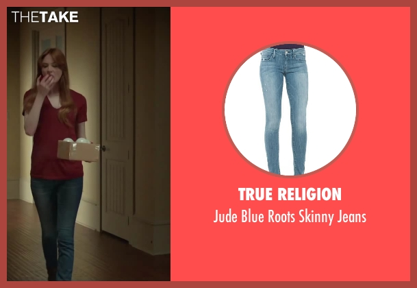 True Religion jeans from Oculus seen with Karen Gillan (Kaylie Russell)