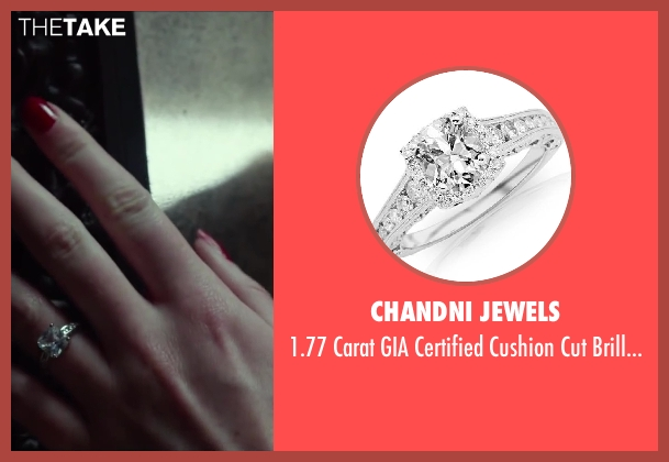 Chandni Jewels ring from Oculus seen with Karen Gillan (Kaylie Russell)