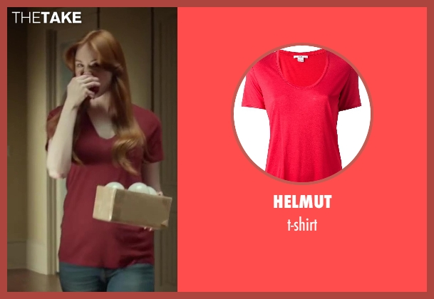 HELMUT t-shirt from Oculus seen with Karen Gillan (Kaylie Russell)