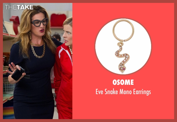 Osome gold earrings from Lady Dynamite seen with Karen Grisham (Ana Gasteyer)