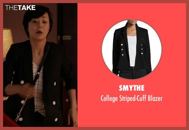 Smythe black blazer from Mistresses seen with Karen Kim (Yunjin Kim)