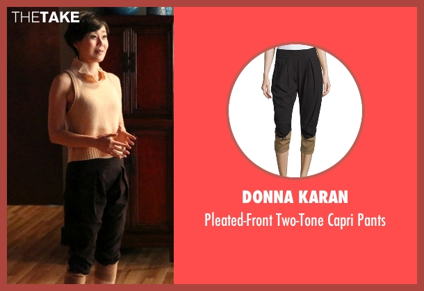 Donna Karan black pants from Mistresses seen with Karen Kim (Yunjin Kim)