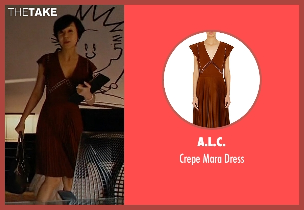 A.L.C. brown dress from Mistresses seen with Karen Kim (Yunjin Kim)