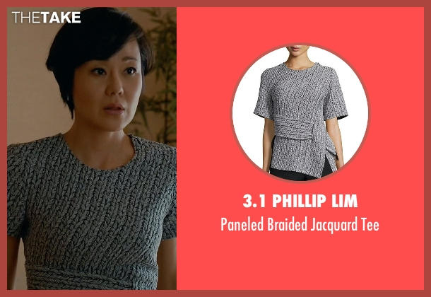 3.1 Phillip Lim gray tee from Mistresses seen with Karen Kim (Yunjin Kim)