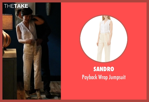 Sandro jumpsuit from Mistresses seen with Karen Kim (Yunjin Kim)
