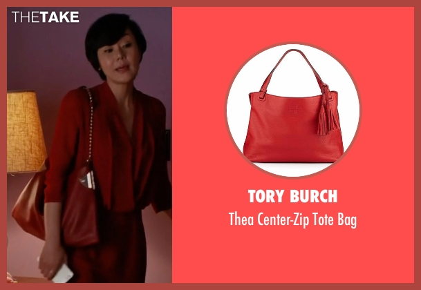 Tory Burch red bag from Mistresses seen with Karen Kim (Yunjin Kim)