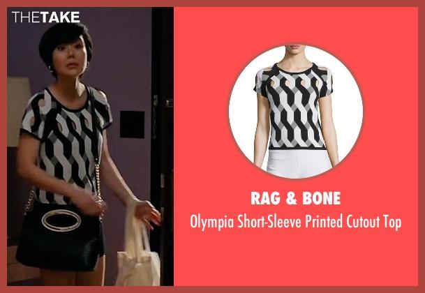 Rag & Bone top from Mistresses seen with Karen Kim (Yunjin Kim)