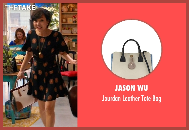 Jason Wu white bag from Mistresses seen with Karen Kim (Yunjin Kim)
