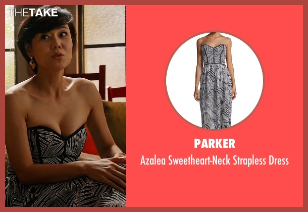 Parker white dress from Mistresses seen with Karen Kim (Yunjin Kim)