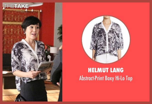 Helmut Lang  white top from Mistresses seen with Karen Kim (Yunjin Kim)