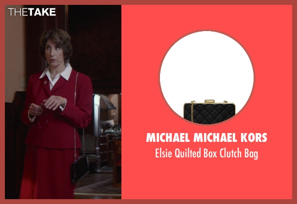 MICHAEL Michael Kors black bag from That Awkward Moment seen with Karen Ludwig (Mrs. Rose)