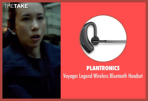 Plantronics headset from Man of Tai Chi seen with Karen Mok (Inspector Suen Jing Si)