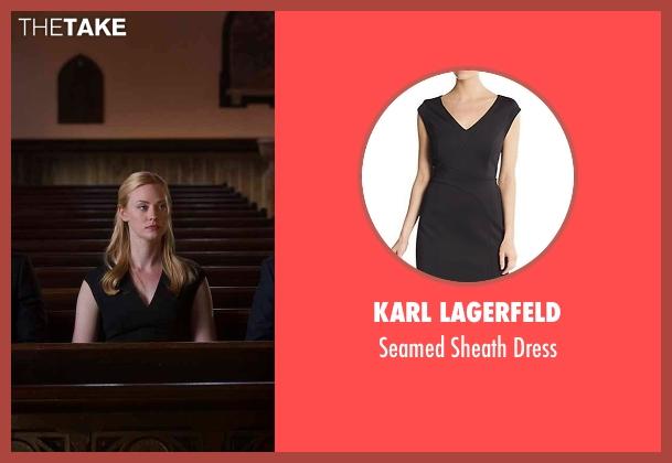 Karl Lagerfeld black dress from Daredevil seen with Karen Page (Deborah Ann Woll)