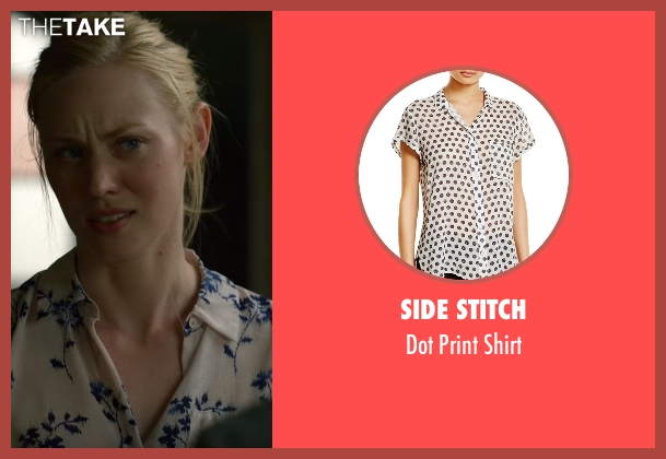 Side Stitch white shirt from Daredevil seen with Karen Page (Deborah Ann Woll)